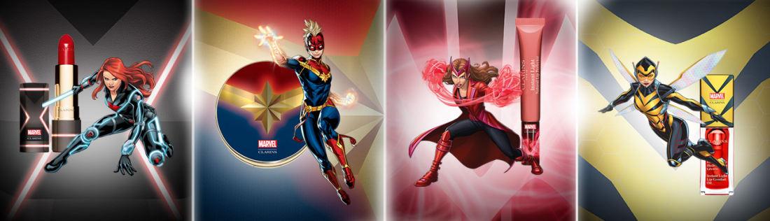 Clarins | Marvel